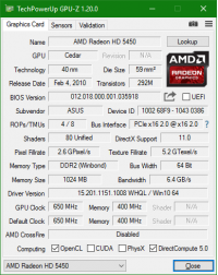 Asus GPU-Z